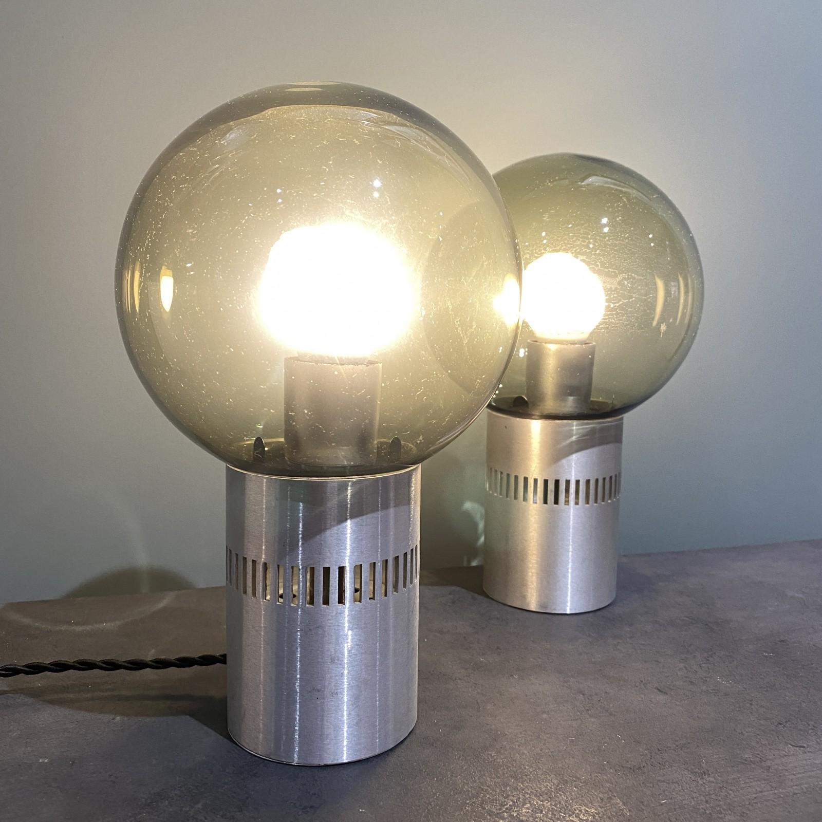 pareja de lámparas del...