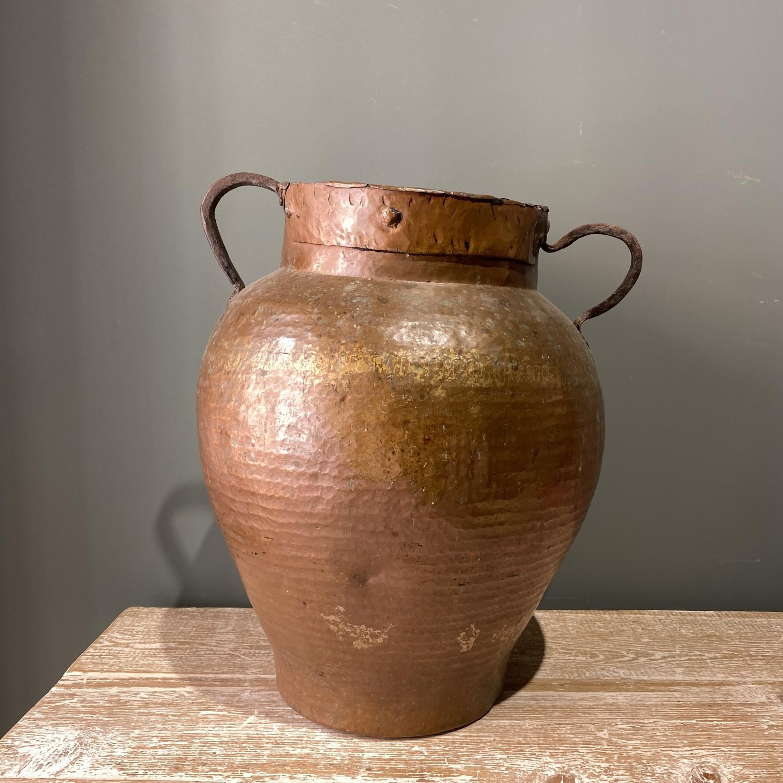 spanish 19th century copper...