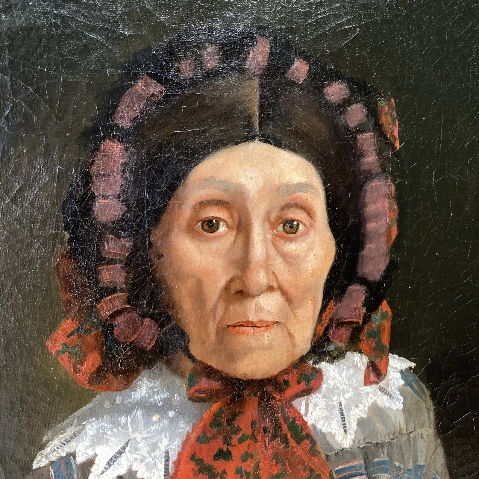 19th century old woman...