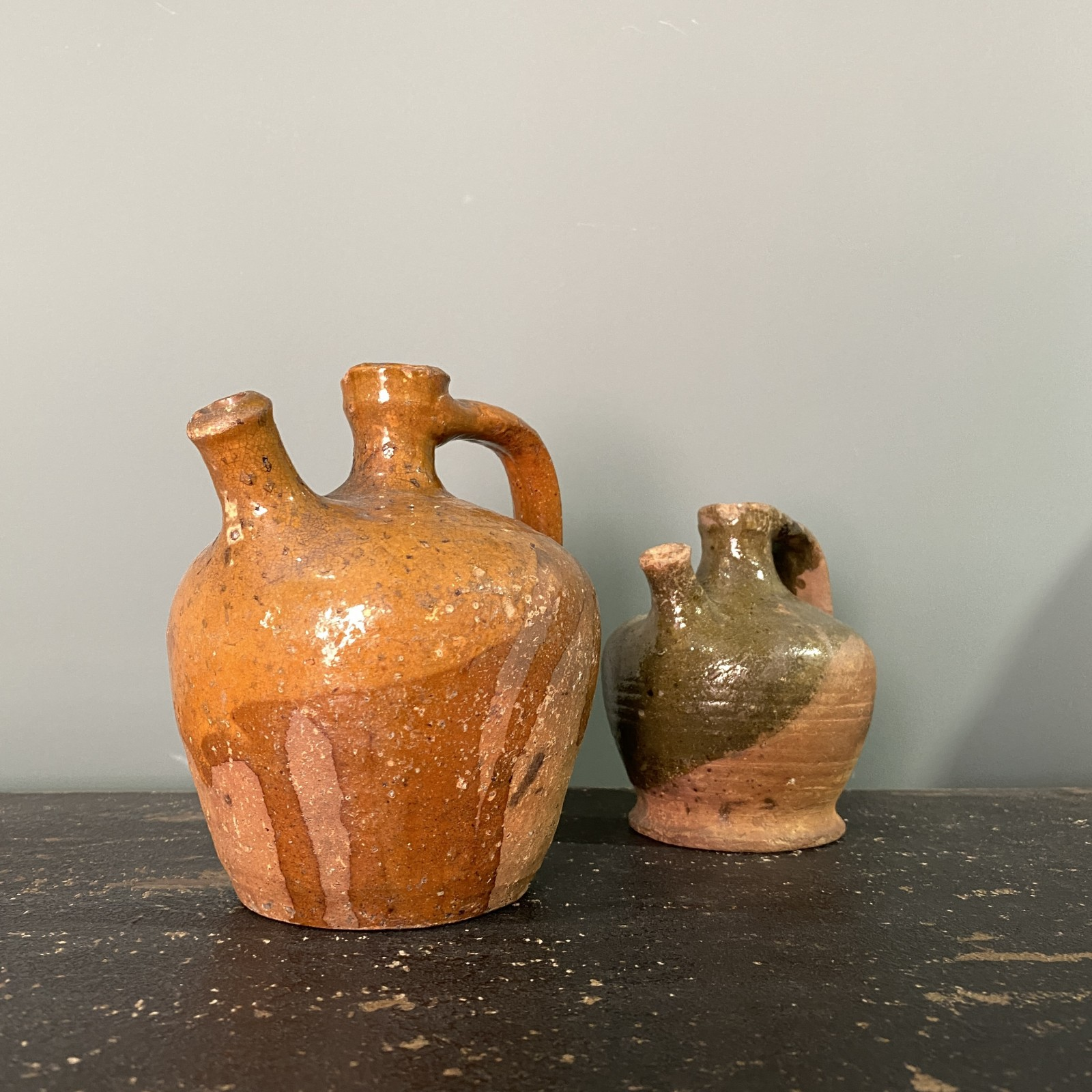 pair of french terracotta...