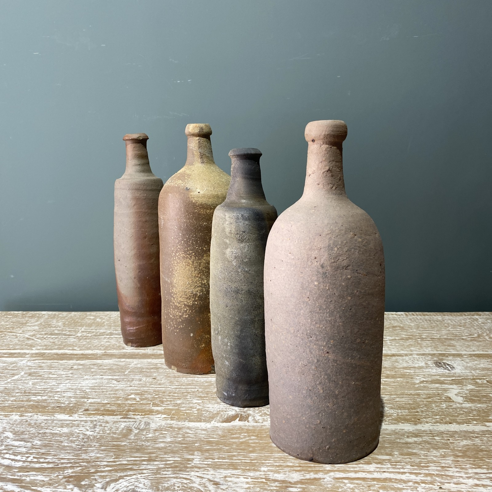 selection of french pottery