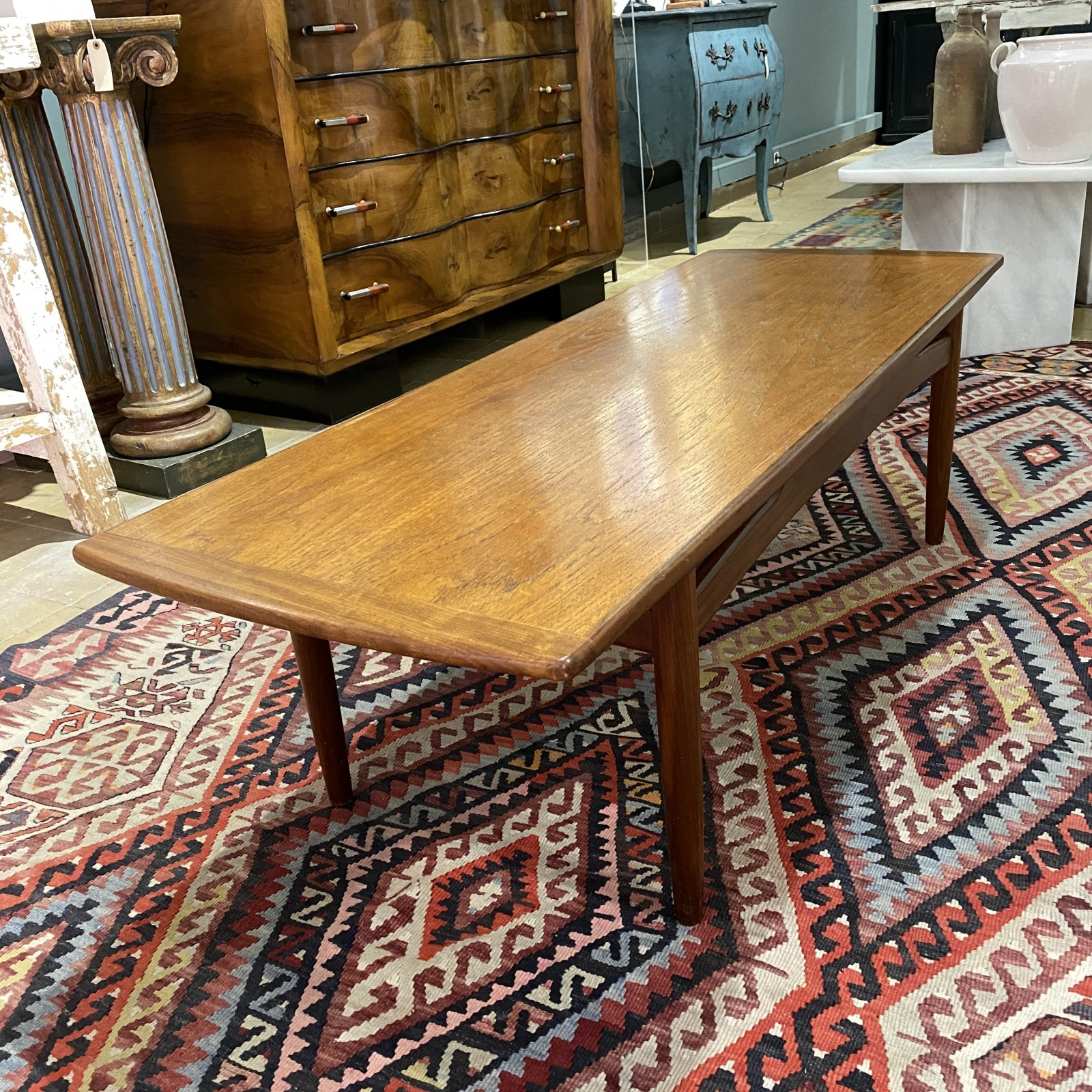mesa de centro en madera de...