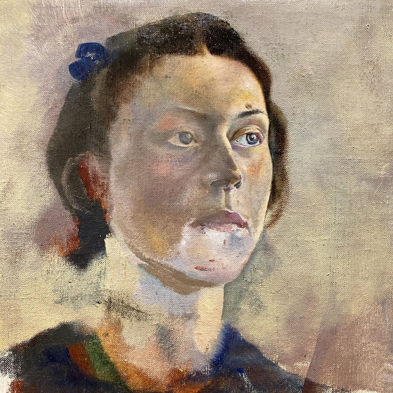 unfinished portrait