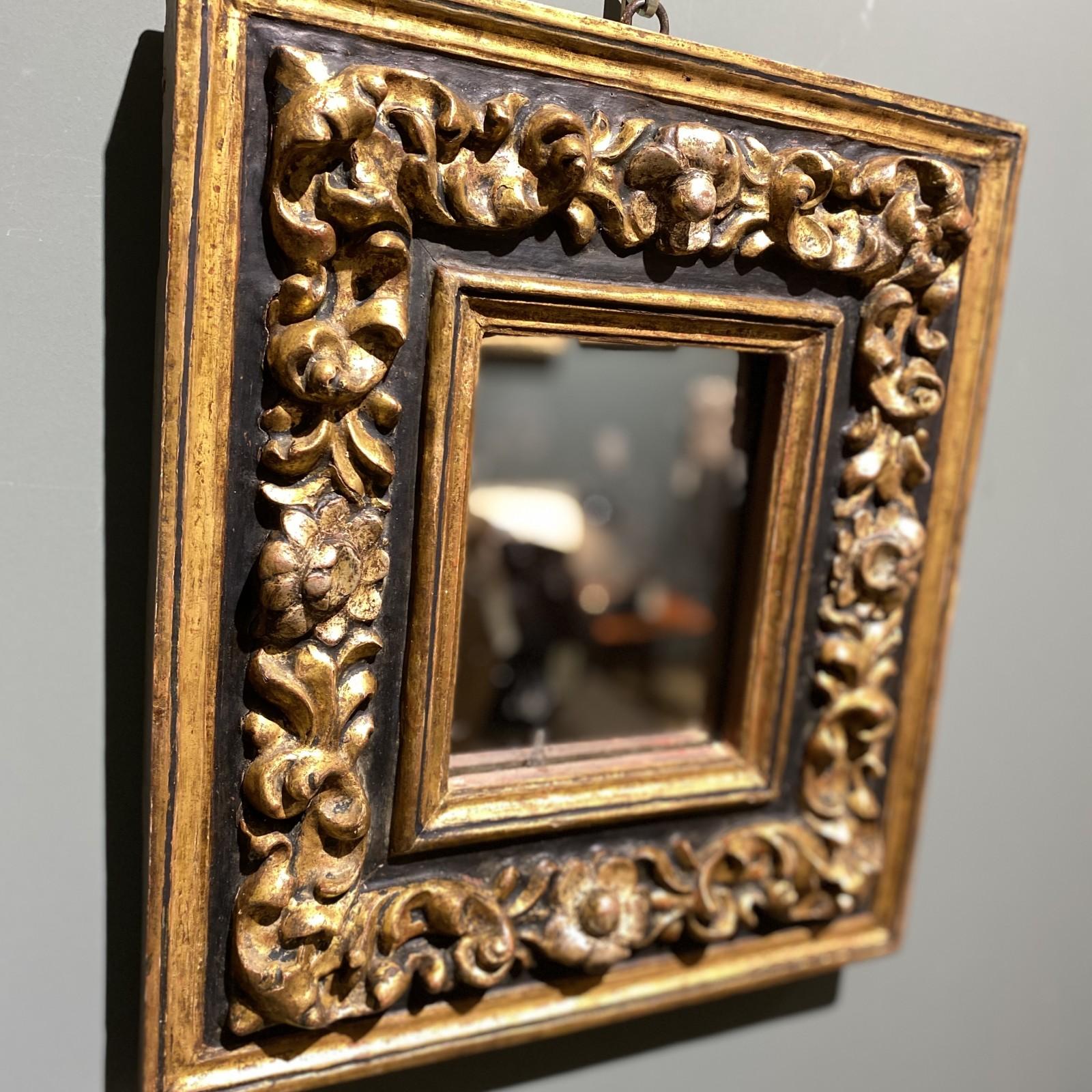 espejo español siglo XVII