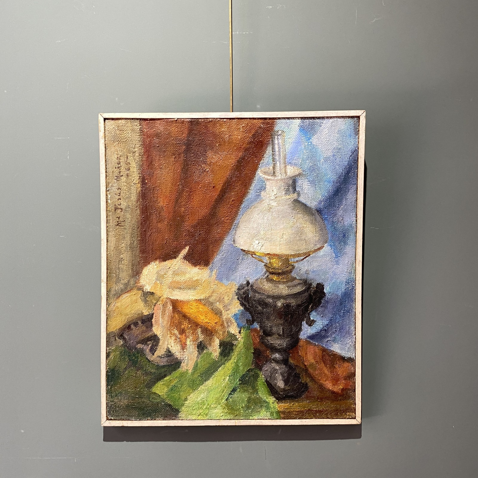 still life with lamp, 1965