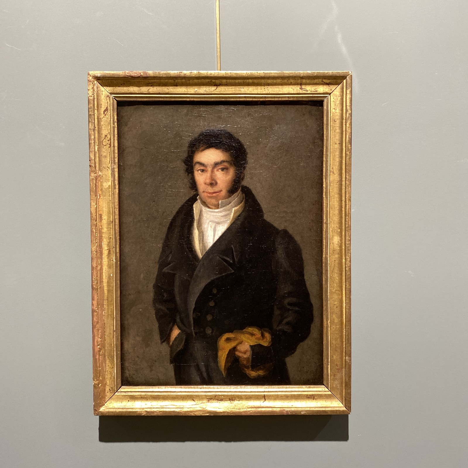 portrait of a french gentleman