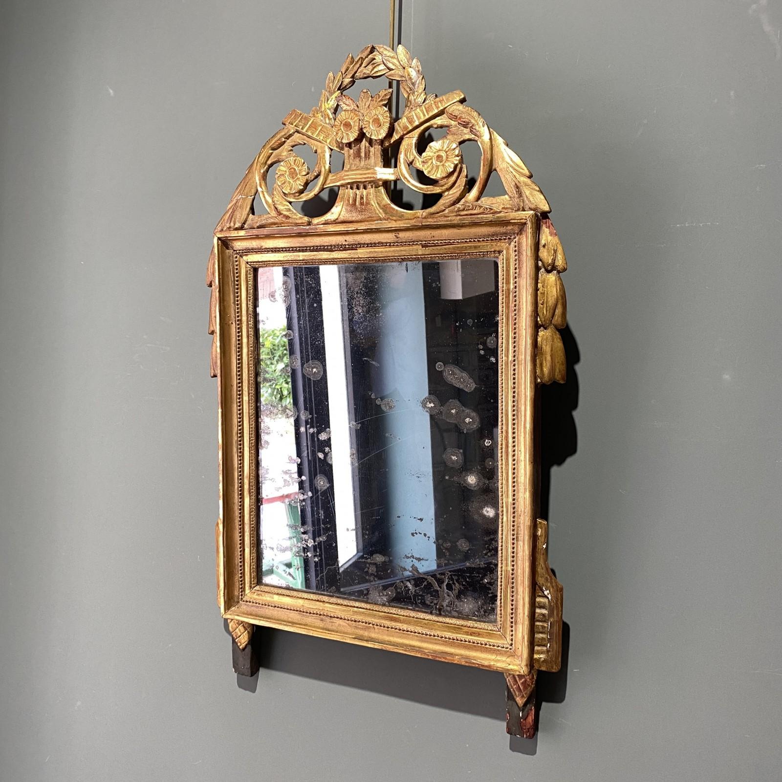French mirror Louis XVI